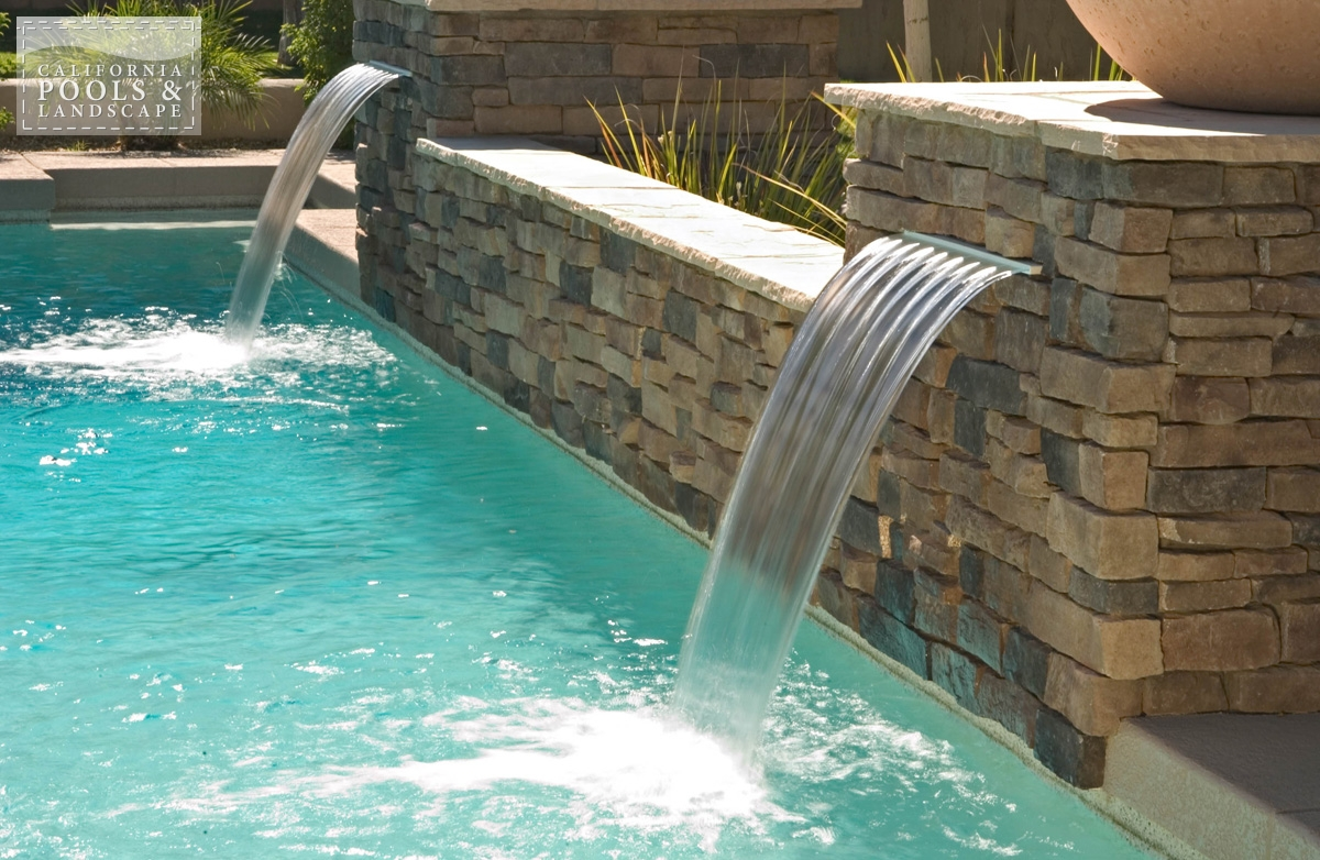 <i>Modern, Stone, Water Feature</i>
