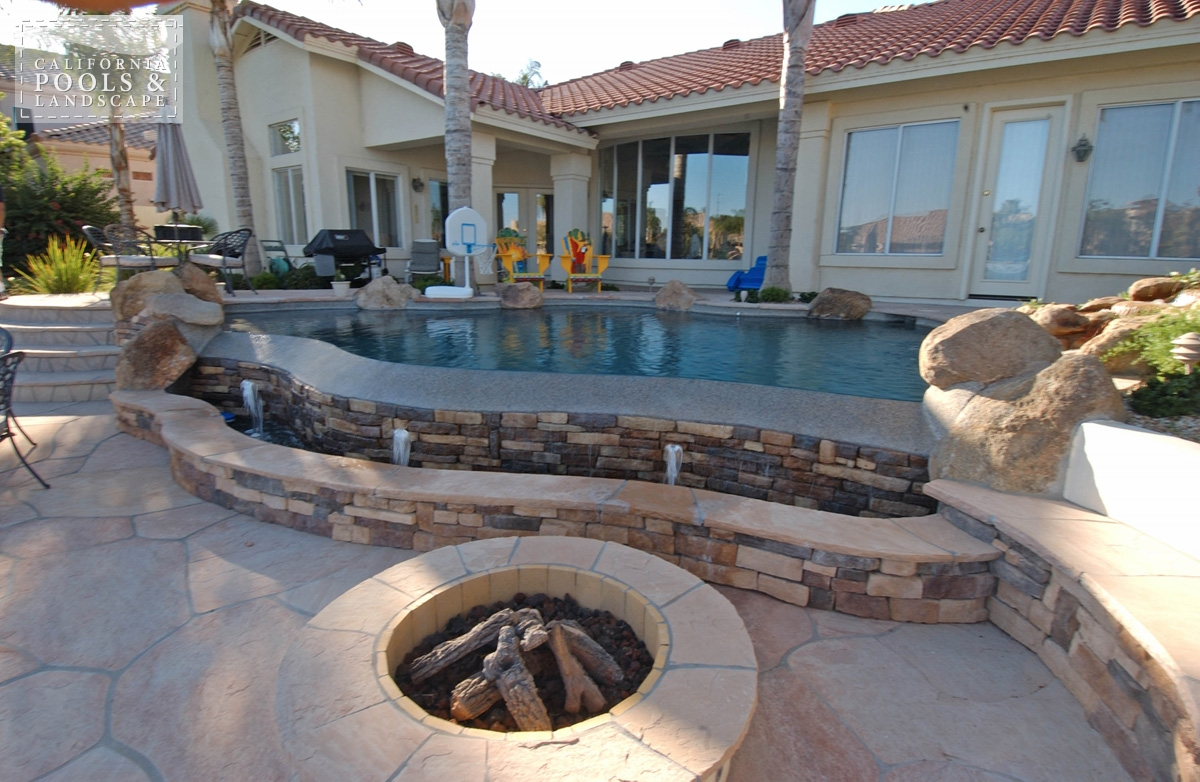<i>Fire Features, Fire Pit, Organic, Speciality, Vanishing Edge, Water Feature</i>