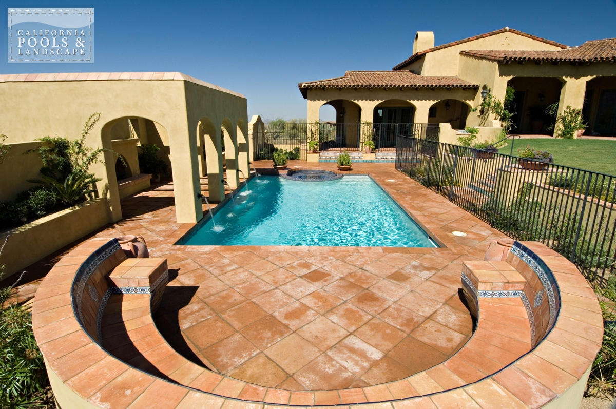 <i>Landscaping, Metal, Tuscan, Water Feature</i>