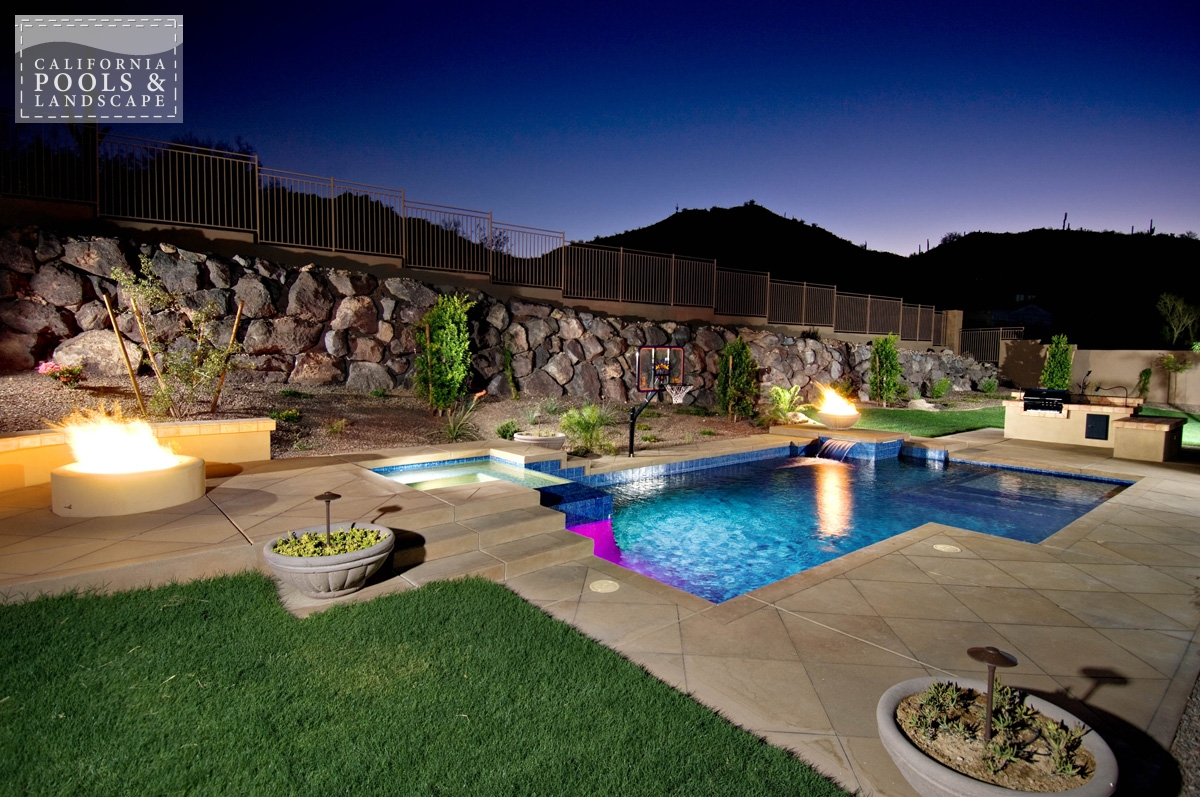 <i>Fire Features, Fire Pit, Landscape Lighting, Landscaping, Modern, Pool Lighting, Special Items</i>