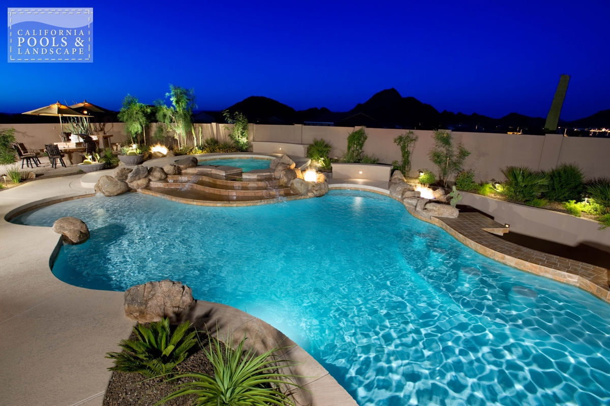 <i>Landscape Lighting, Landscaping, Organic, Swim Up Bar</i>