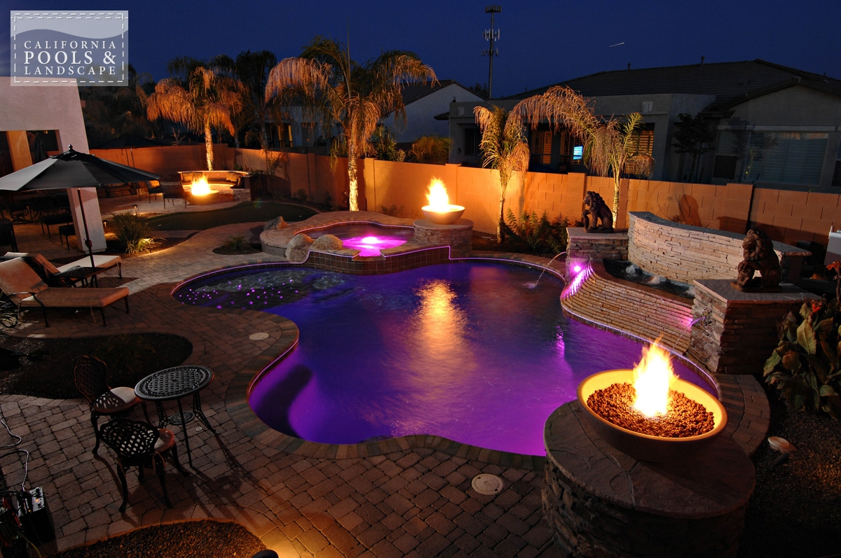 <i>Fire Features, Fire Pit, Fire Pot, Landscape Lighting, Organic, Pool Lighting, Special Items</i>