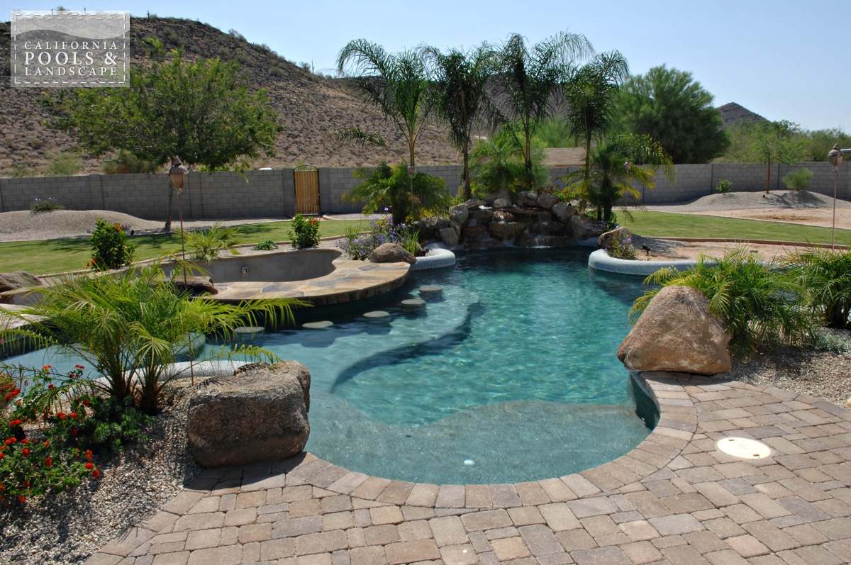 <i>Organic, Pool, Rock, Swim Up Bar, Water Feature</i>