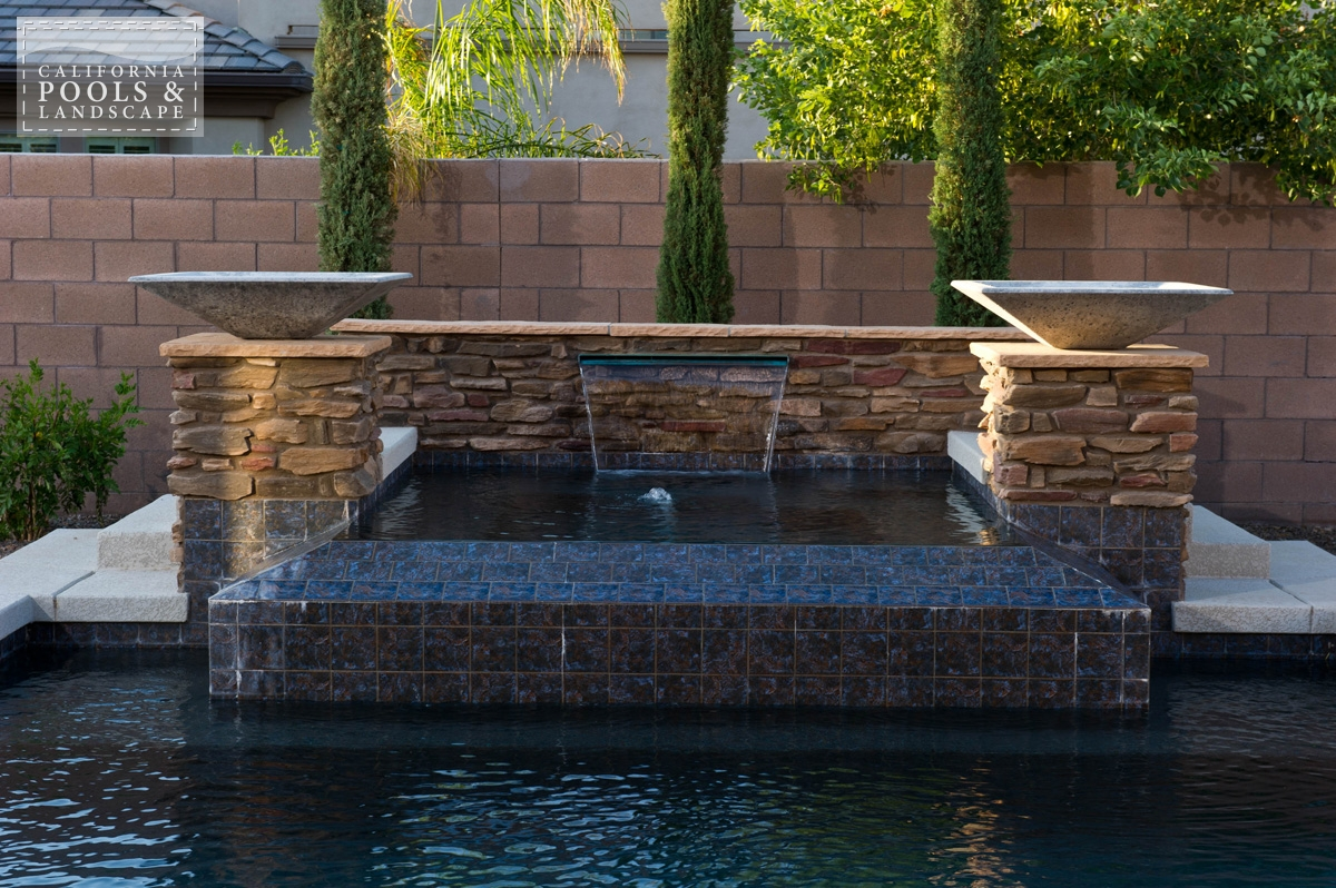 <i>Modern, Spa, Tile, Water Feature</i>