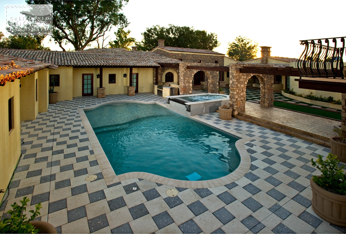 <i>Artistic Pavers, Decking, Tuscan</i>