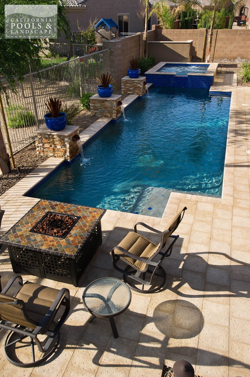 <i>Artistic Pavers, Decking, Modern, Pool</i>
