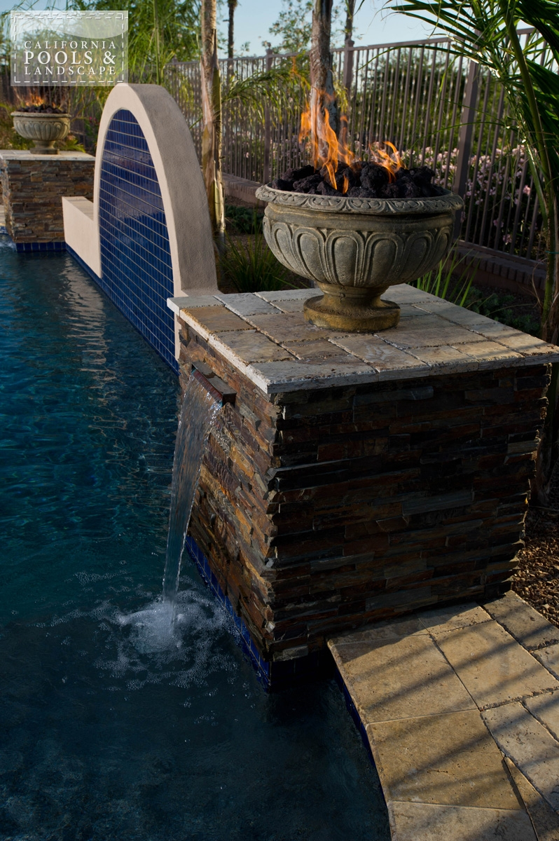 <i>Metal, Stone, Tuscan, Water Feature</i>
