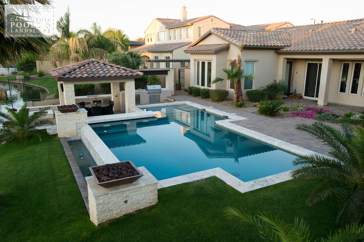 <i>Landscaping, Modern, Pool, Vanishing Edge</i>