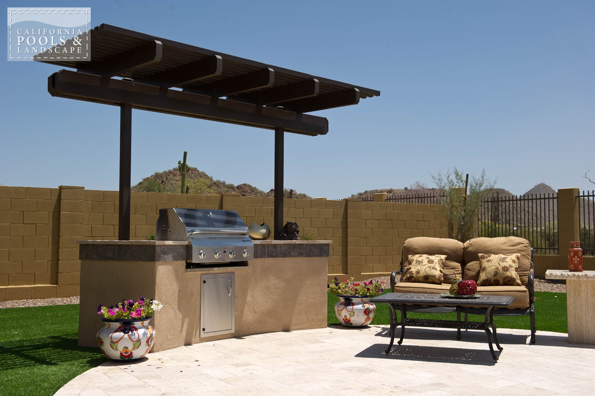 <i>BBQ & Kitchens, Modern, Shade Structure</i>