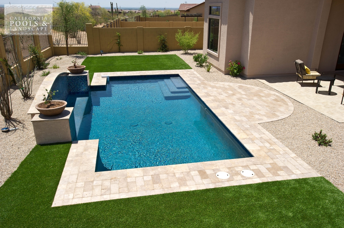 <i>Decking, Modern, Travertine</i>