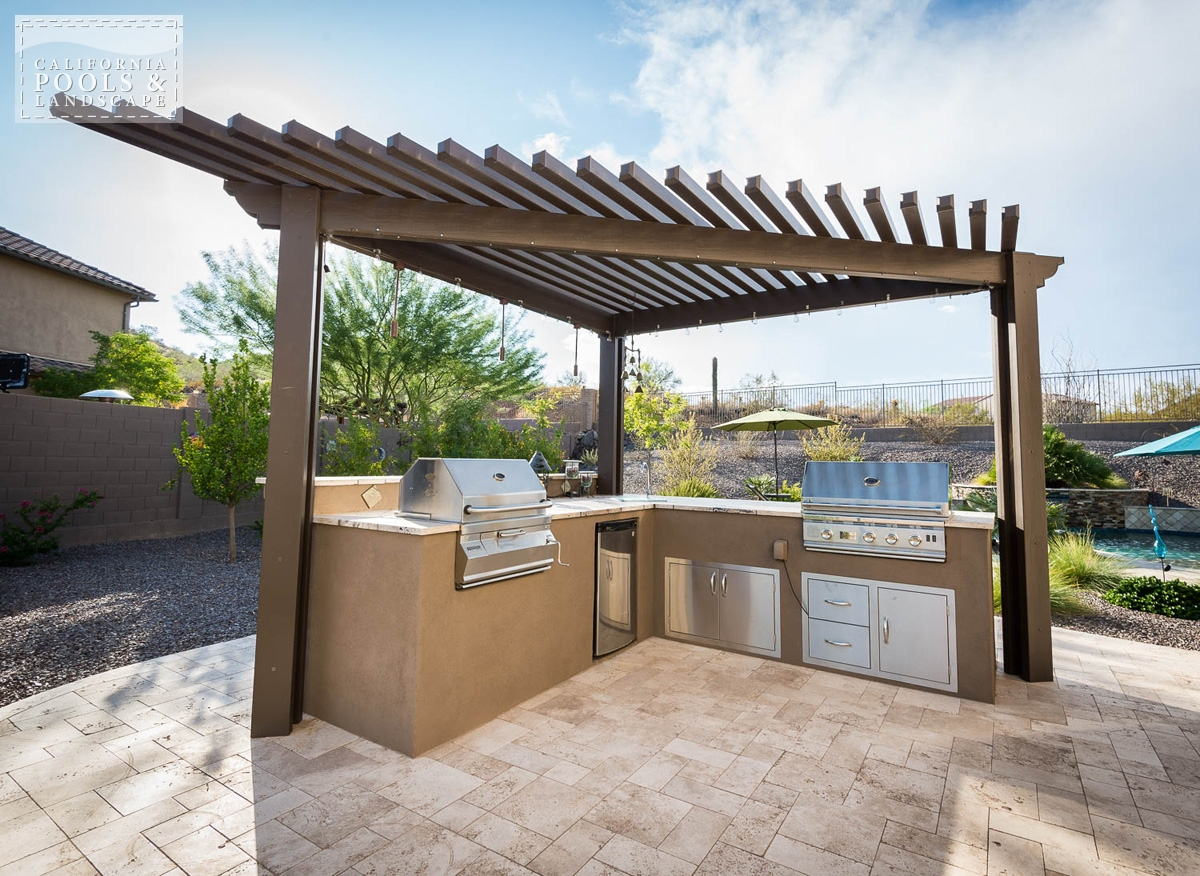 <i>BBQ & Kitchens, Organic, Shade Structure</i>