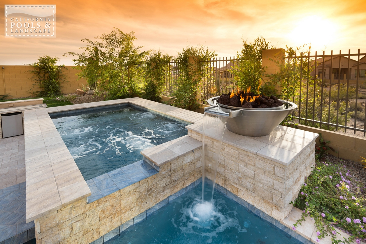 <i>Metal, Modern, Spa, Stone, Water Feature</i>