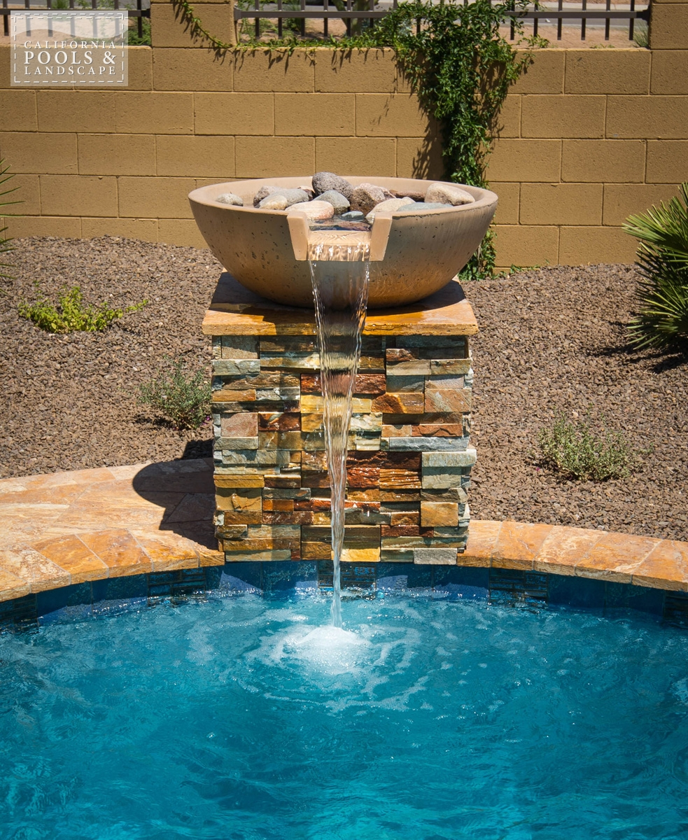 <i>Retro, Stone, Water Feature</i>