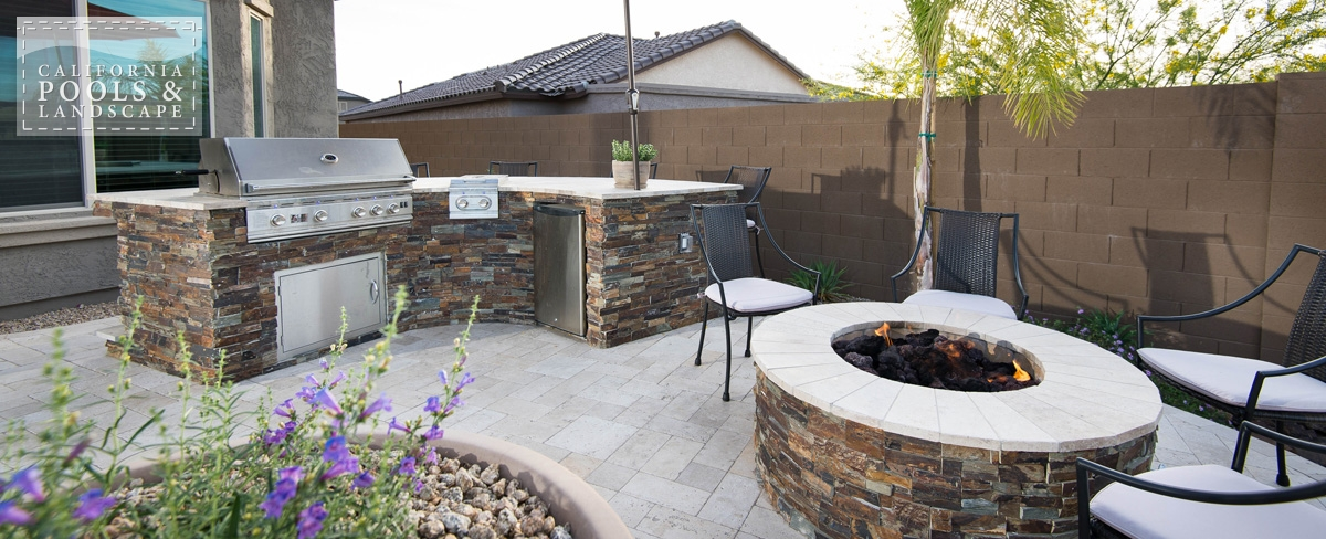 <i>BBQ & Kitchens, Fire Features, Fire Pit, Organic</i>