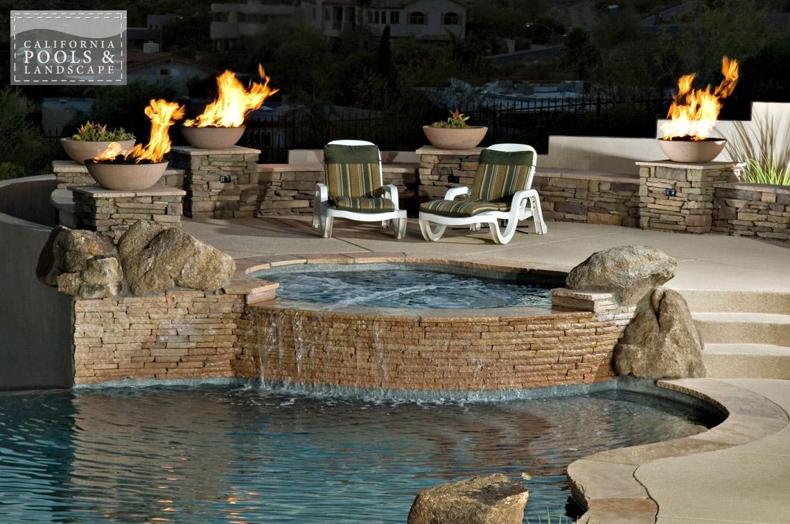 Phoenix AZ Swimming Pool Contractors & Landscape Builders - <i>AZ Lifestyle, Organic</i>