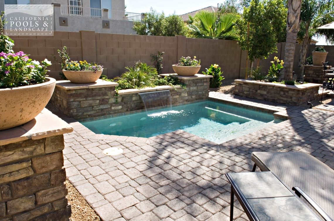 Phoenix AZ Swimming Pool Contractors & Landscape Builders - <i>Pool, Stone, Water Features</i>