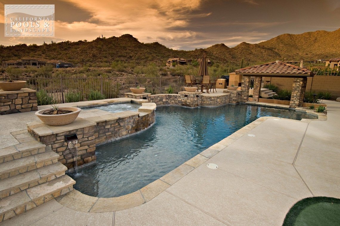 Backyard Living Source : California Pools & Landscape  Your Premier Outdoor Living Source