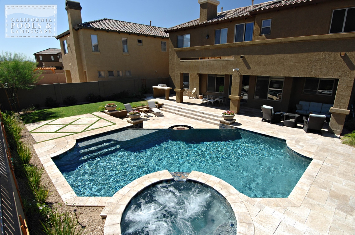 AZ Swimming Pool Builders Outdoor Landscape Contractors - <i>Pool, Spa, Tuscan</i>