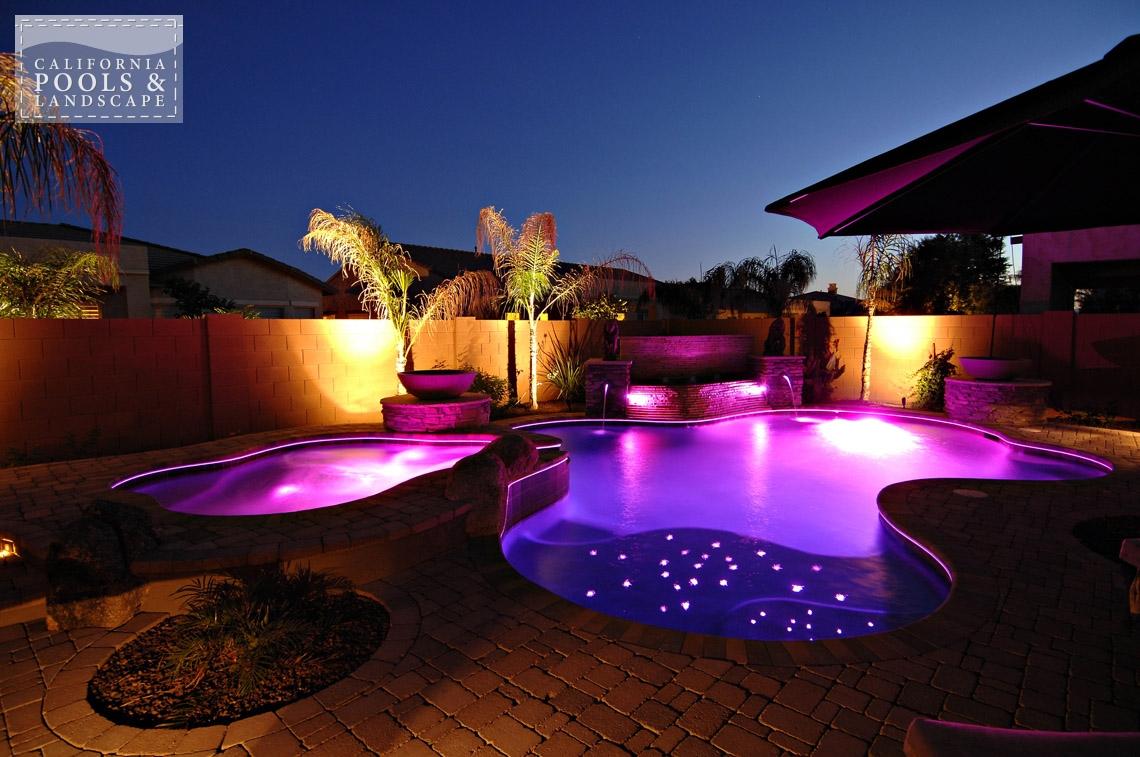 AZ Swimming Pool Contractors California Pool & Landscape - <i>AZ Lifestyle, Organic</i>