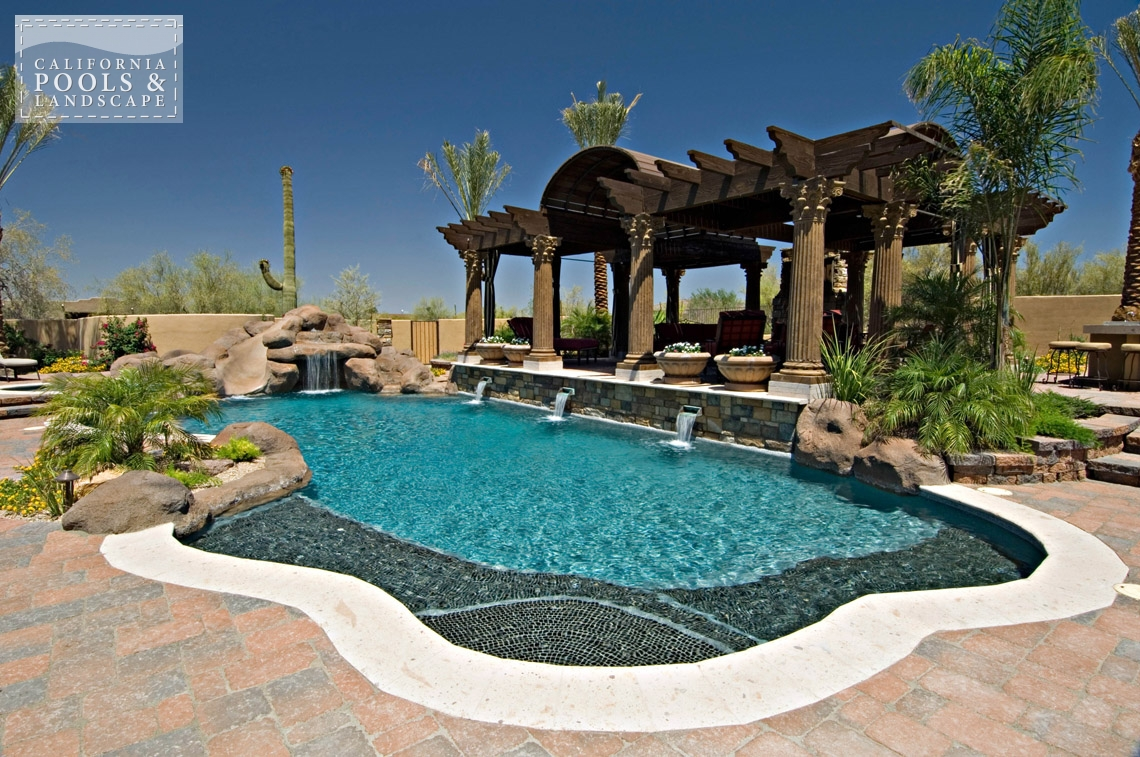 AZ Swimming Pool Contractors California Pool & Landscape - <i>Organic, Pool, Shade Structure, Special Items</i>