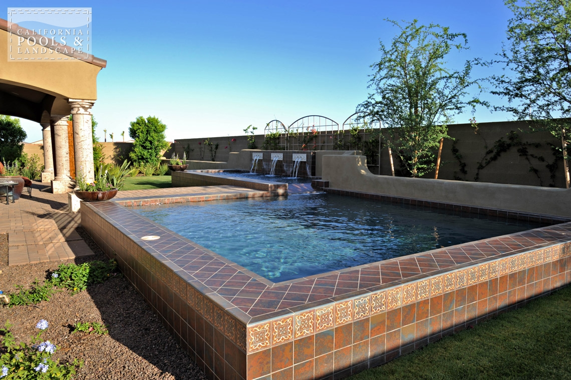 Phoenix In-ground Swimming Pool Builders - <i>Modern, Pool, Special Items</i>
