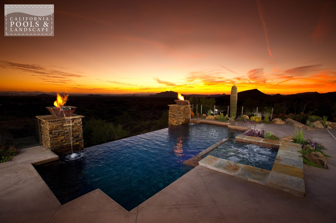 Arizona In-ground Swimming Pool Builders - <i>AZ Lifestyle, Modern, Remodel</i>