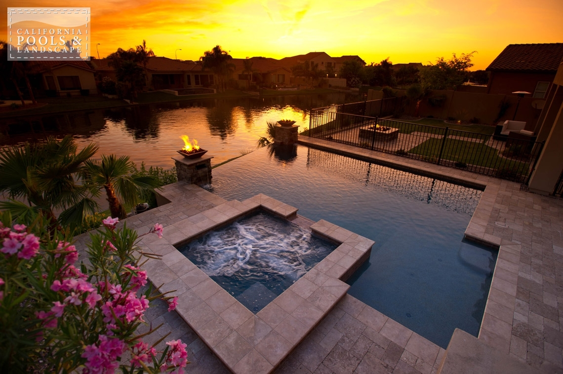 AZ Swimming Pool Builders Outdoor Landscape Contractors - <i>AZ Lifestyle, Modern</i>