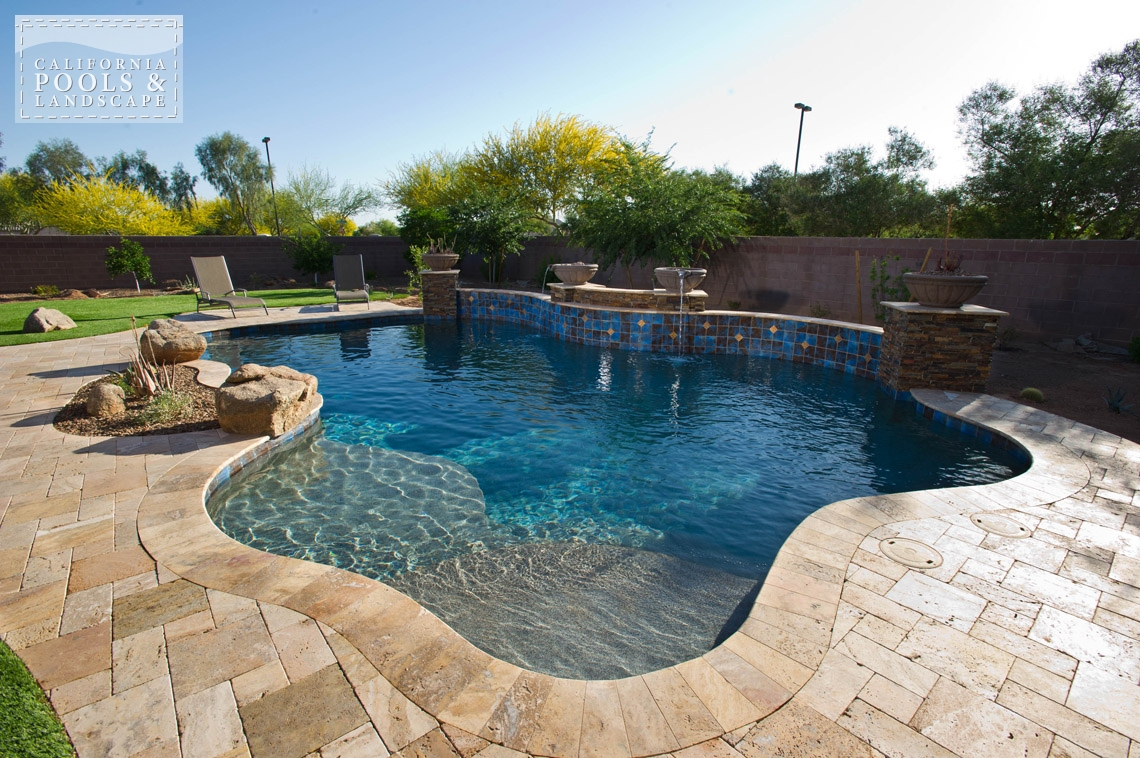 AZ Swimming Pool Builders Outdoor Landscape Contractors - <i>AZ Lifestyle, Award Winner, Organic</i>