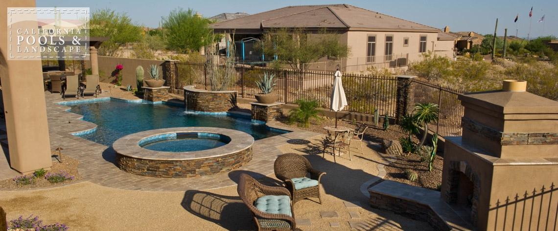 Swimming Pool by CPL Builders Phoenix Arizona - <i>AZ Lifestyle, Modern</i>