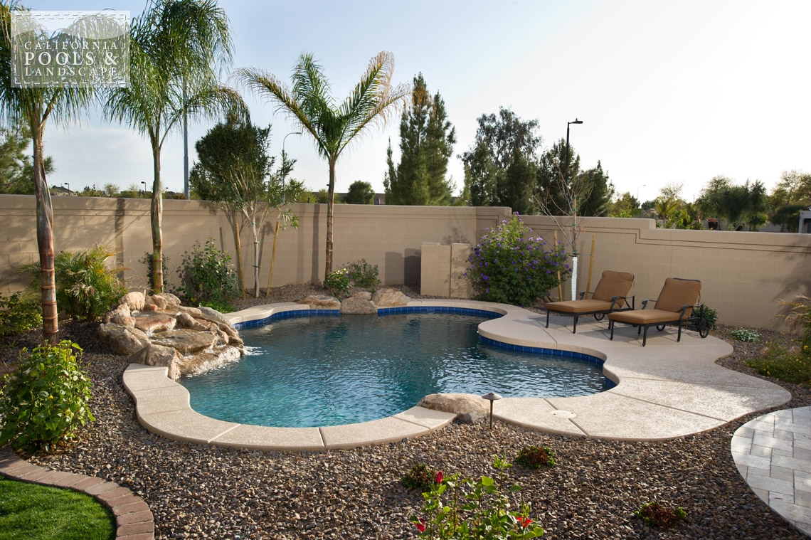 Swimming Pool by CPL Builders Phoenix Arizona - <i>Landscaping, Organic, Pool, Rock, Water Features</i>