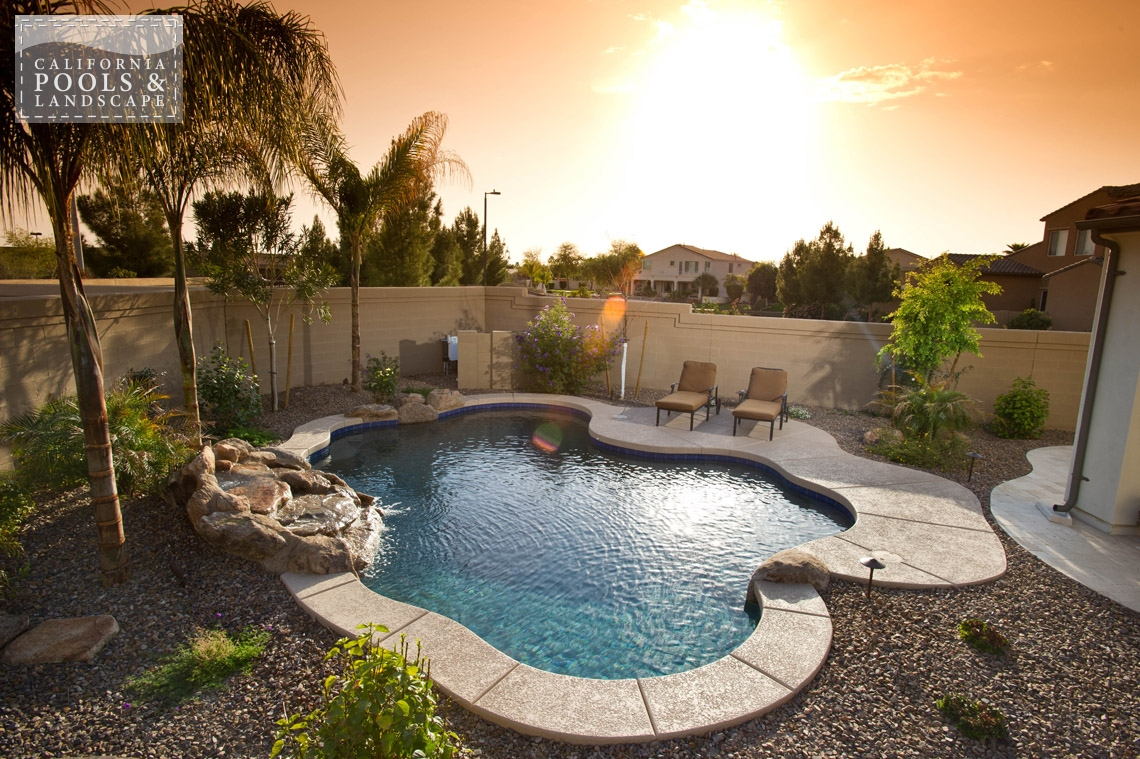 Swimming Pool by CPL Builders Phoenix Arizona - <i>AZ Lifestyle, Organic</i>