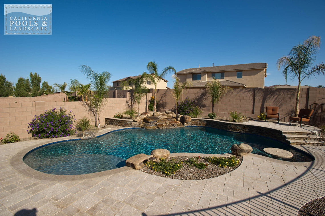 Phoenix In-ground Swimming Pool Builders - <i>Landscaping, Organic, Pool, Special Items</i>