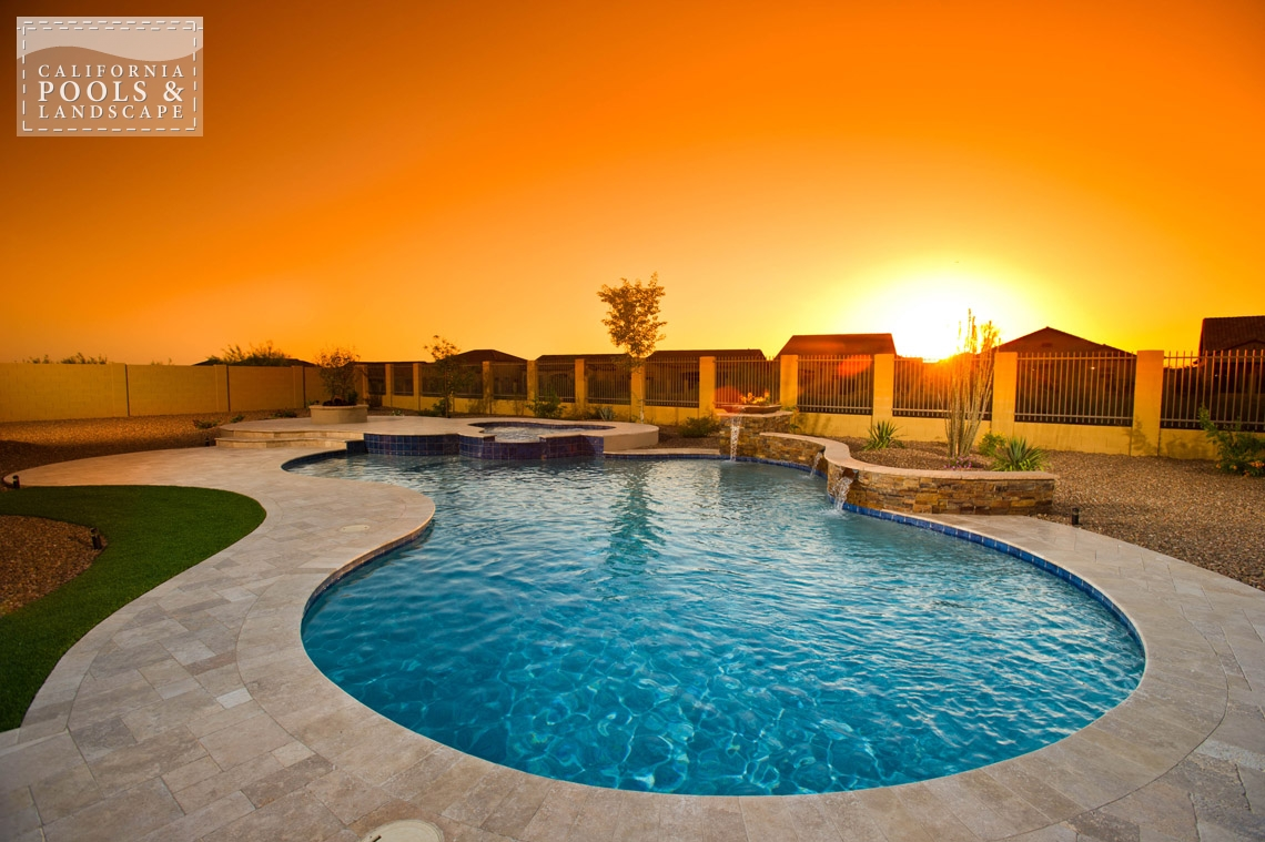 Phoenix In-ground Swimming Pool Builders - <i>AZ Lifestyle, Retro</i>