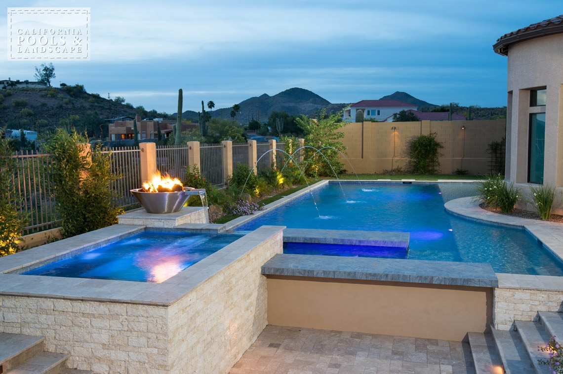AZ Swimming Pool Builders Outdoor Landscape Contractors - <i>Modern, Pool, Pool Lighting, Spa, Special Items</i>
