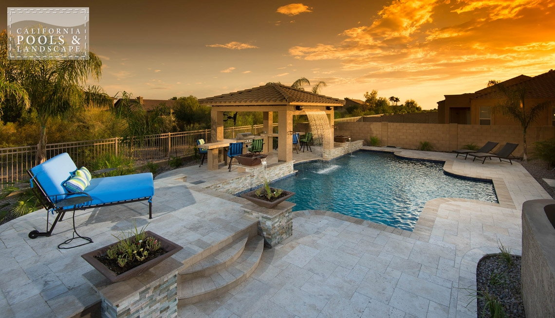 Outdoor living california pools landscape for Swimming pool builders