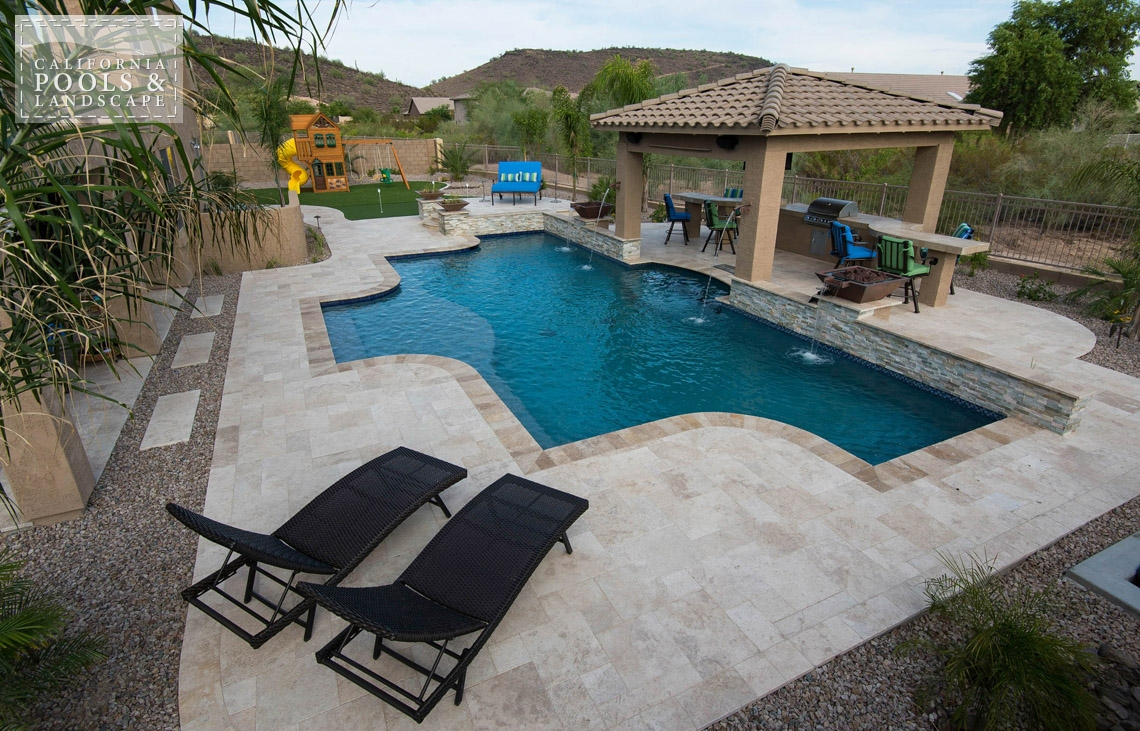 What makes a bbb international torch award winner for Pool design az