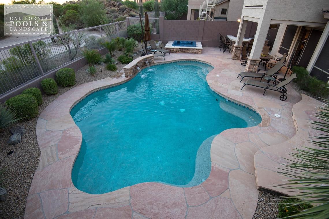 Arizona In-ground Swimming Pool Builders - <i>Organic, Pool, Remodel</i>