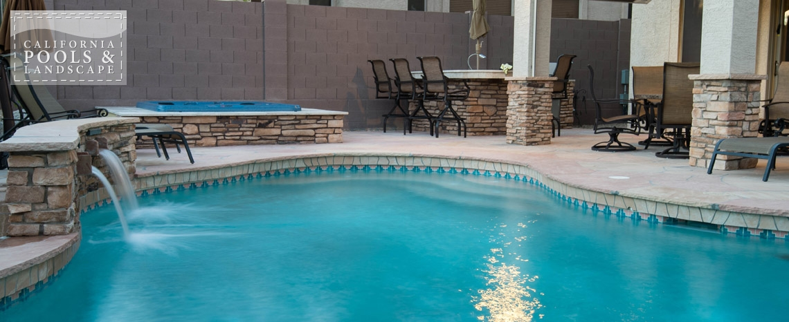 Arizona In-ground Swimming Pool Builders - <i>Organic, Remodel, Spa, Stone, Water Features</i>