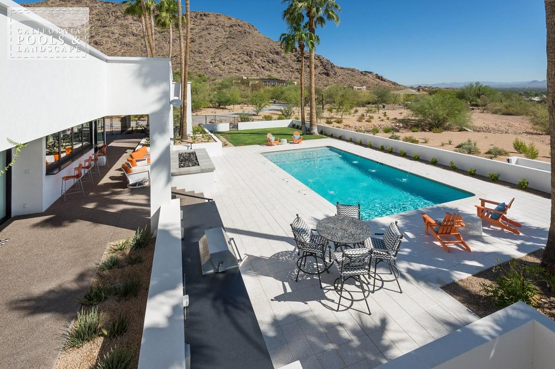 Arizona In-ground Swimming Pool Builders - <i>BBQ & Kitchens, Remodel, Retro</i>