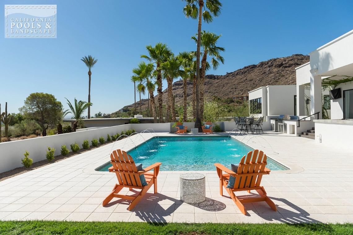 Arizona In-ground Swimming Pool Builders - <i>AZ Lifestyle, Retro</i>