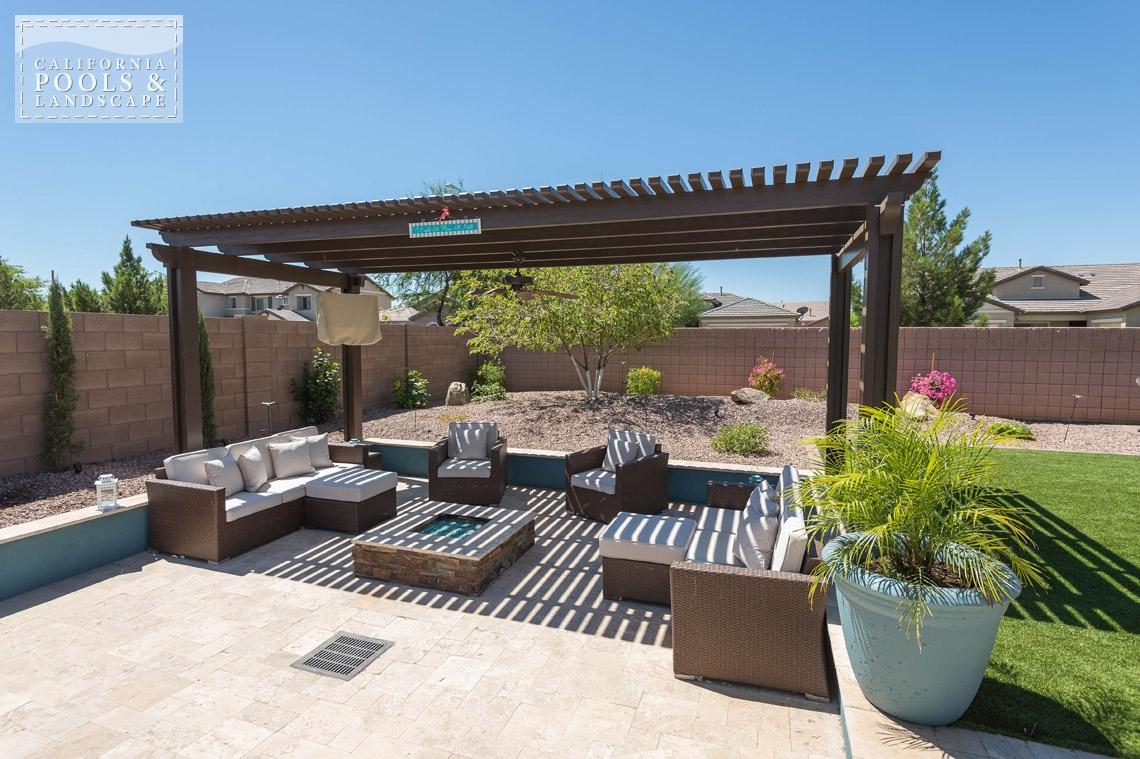 Arizona In-ground Swimming Pool Builders - <i>AZ Lifestyle, Modern</i>