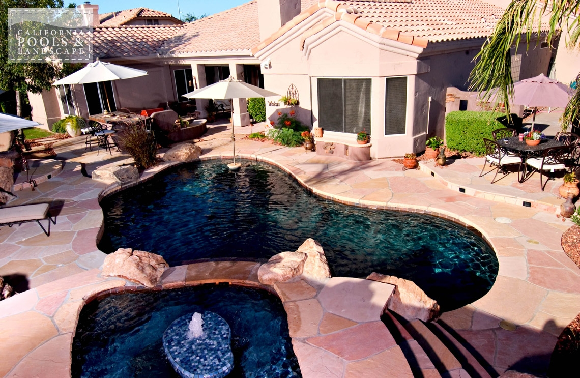 Swimming Pool by CPL Builders Phoenix Arizona - <i>Organic, Pool, Remodel, Spa, Special Items</i>