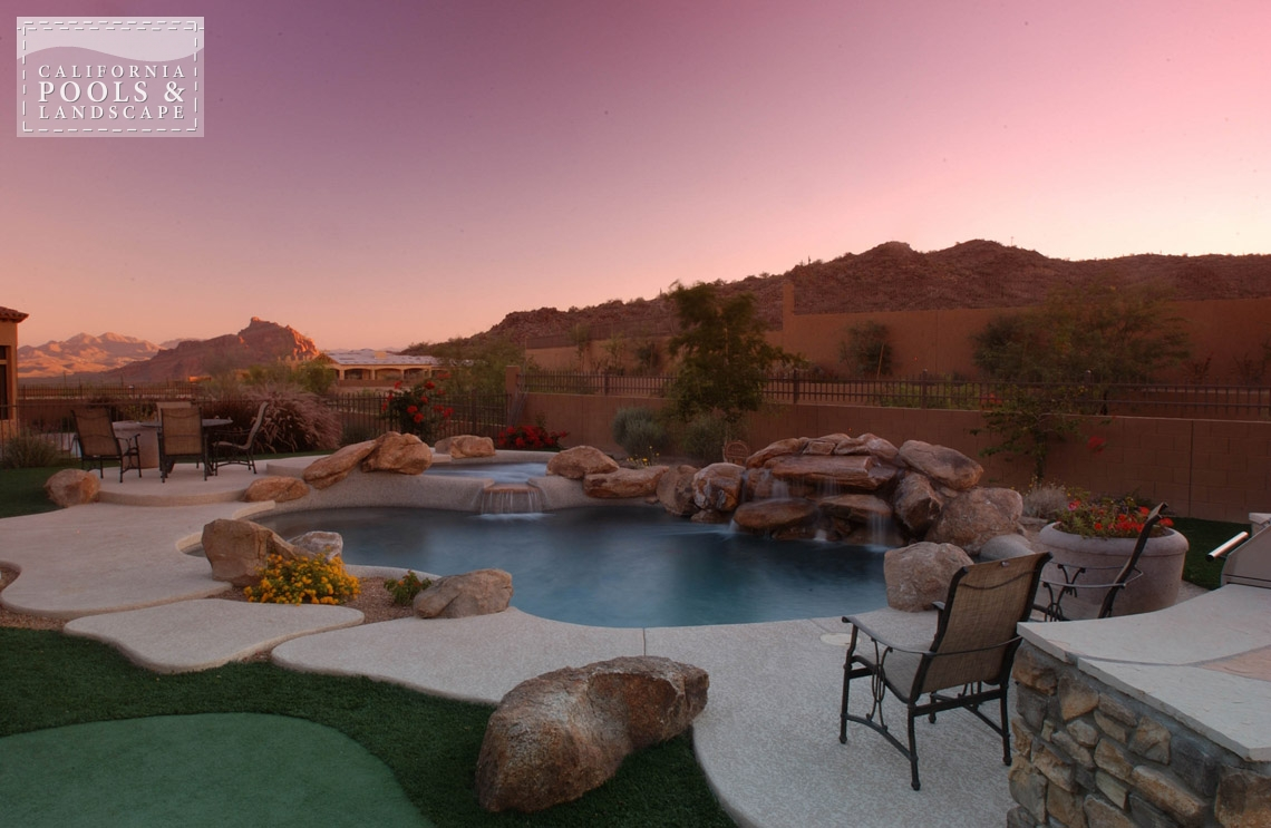 Outdoor Living California Pools Landscape