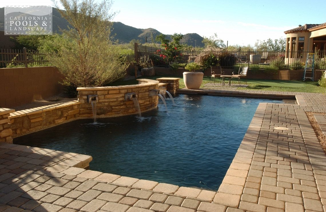 Swimming Pool by CPL Builders Phoenix Arizona - <i>Cocktail Pool, Pool</i>