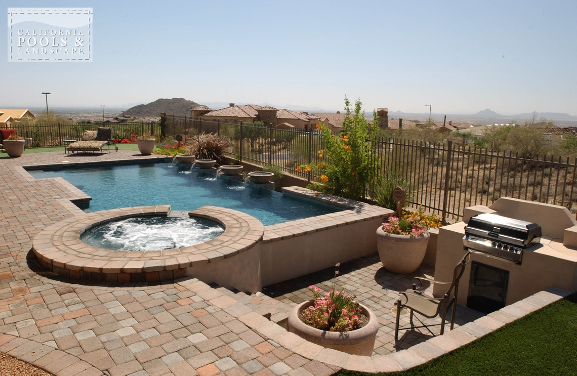 Pools california pools landscape for Pool and spa contractors