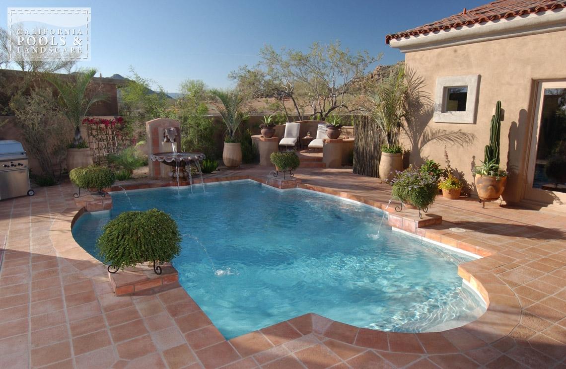 Pools california pools landscape Swimming pool companies in phoenix az