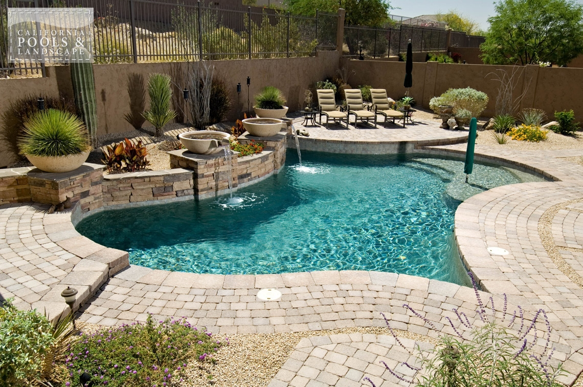 Pools california pools landscape for In ground swimming pool contractors