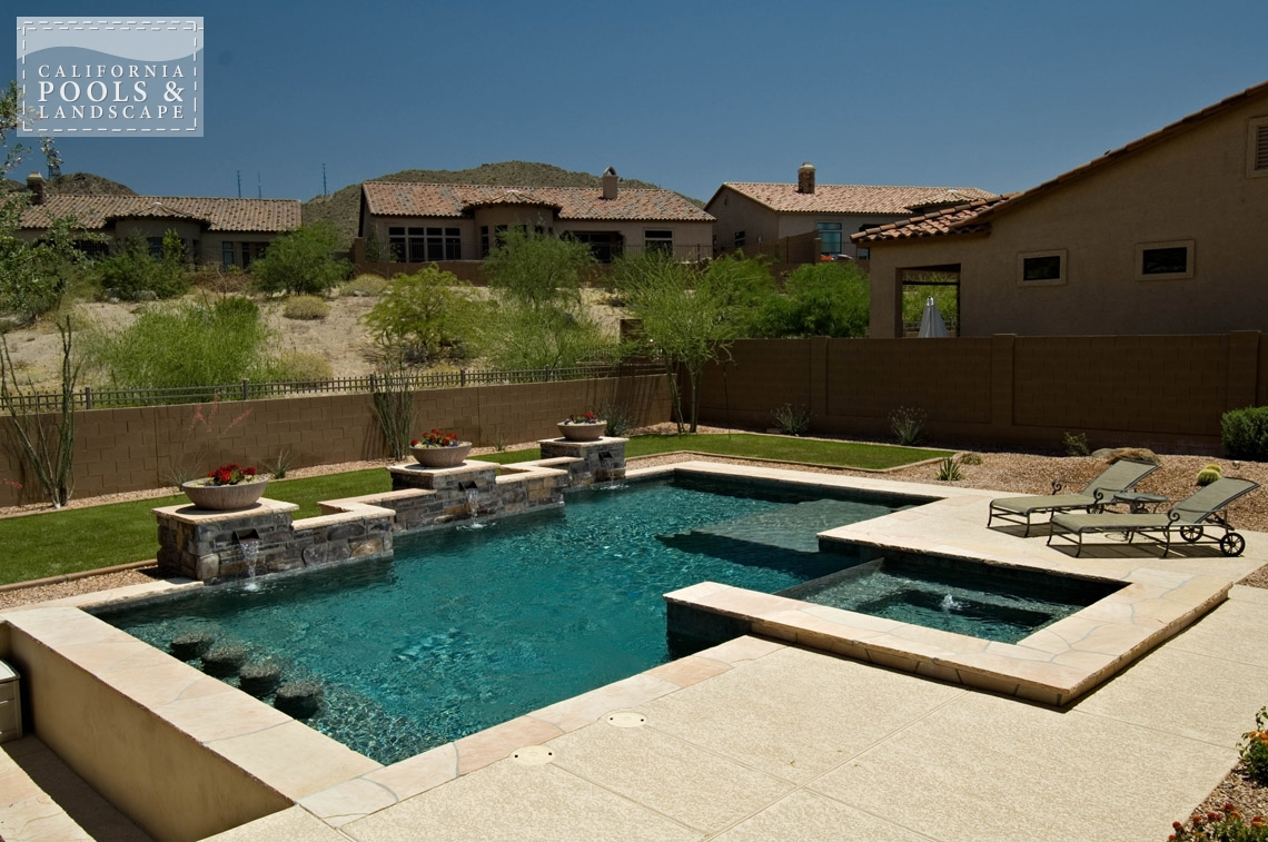 Pools california pools landscape for Pool design az