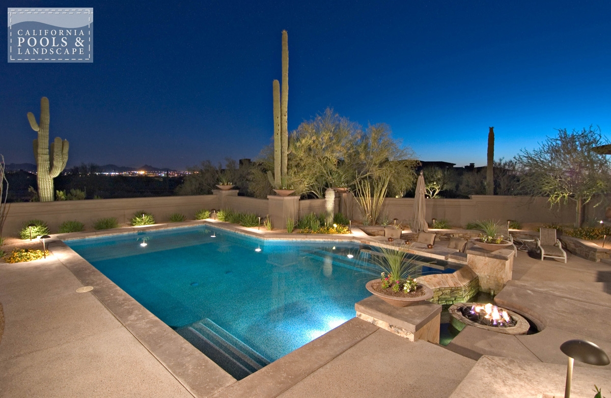 California Pool Amp Landscape Gallery Of Completed Backyards