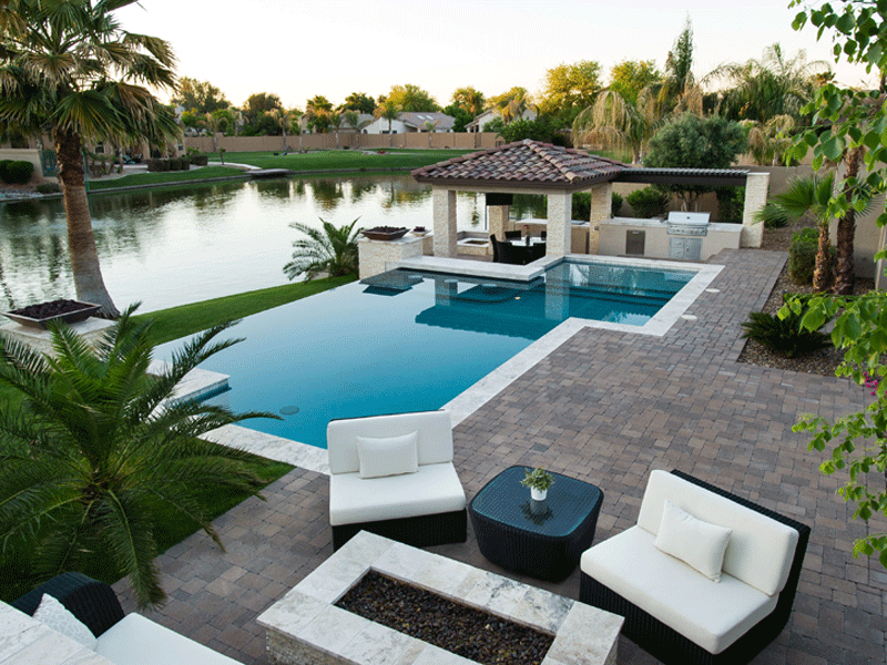 Top az pool builder california pools landscape for Top pool builders